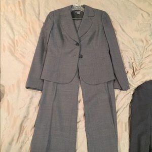 Women's grey Ann Taylor suit